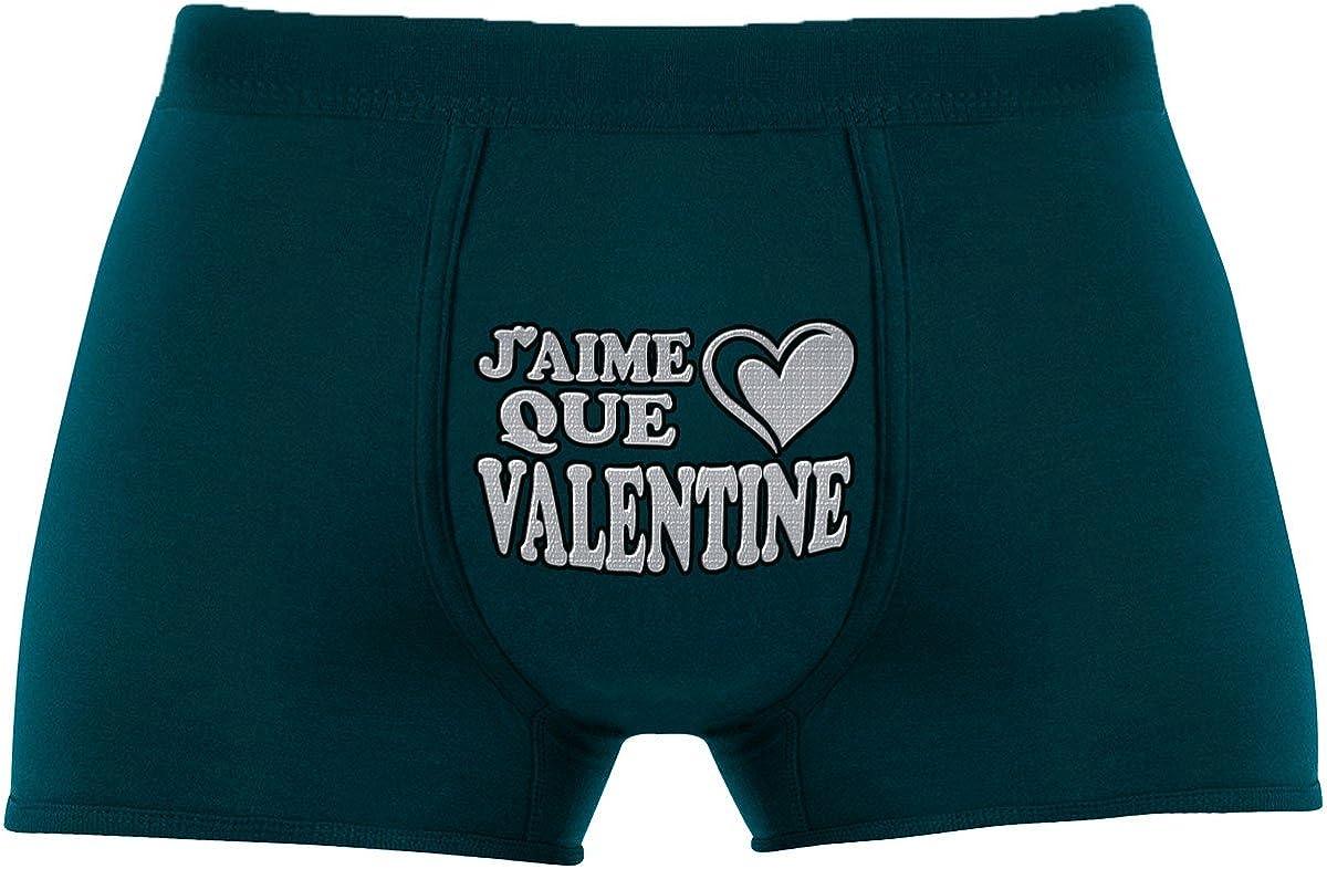 Herr Plavkin Boxers Jaime que Valentine Article de nouveaut/é. Cadeau Anniversaire Unique et Dr/ôle