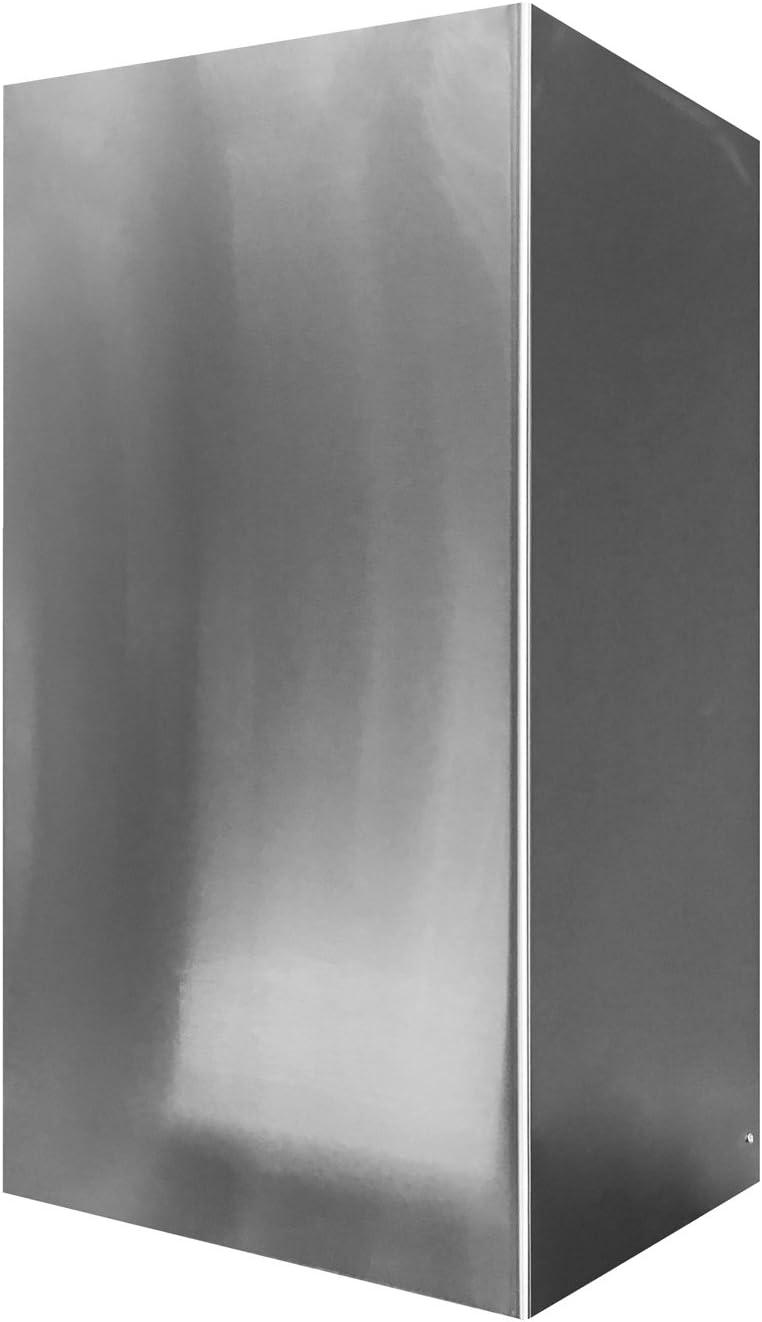 Mepamsa 133.0390.962 Chimenea accesorios prolongación, Acero inoxidable: Amazon.es: Hogar