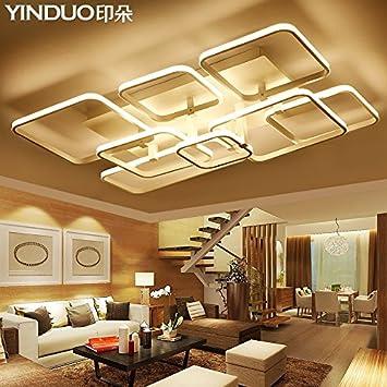 Die LED Leuchten Wohnzimmer Decke Lampe Leuchtet Rechteckige Moderne,  Minimalistische Leuchte Schlafzimmer ,3