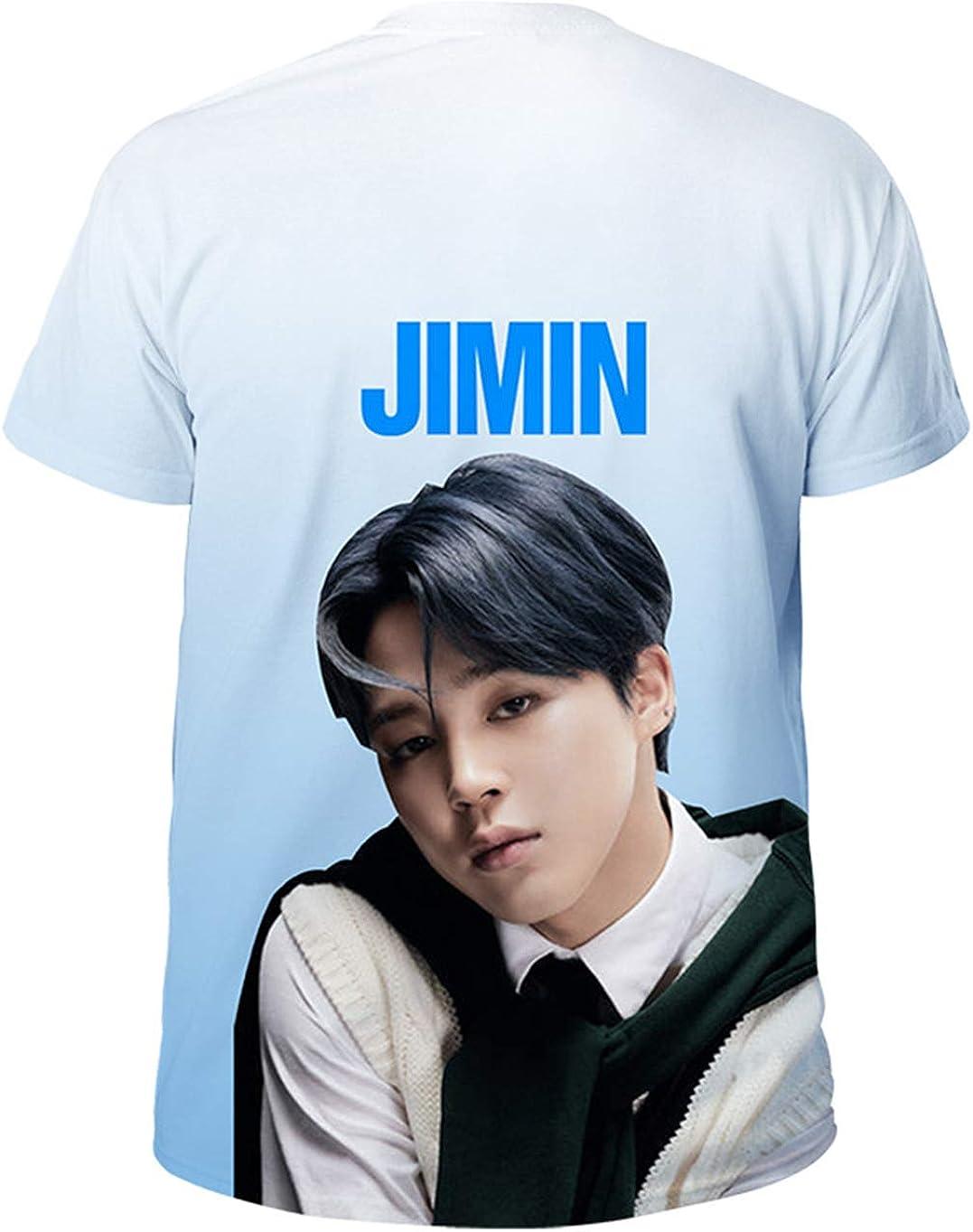 ACEFAST INC Kpop BTS 3D Shirt Map of The Soul 7 T Shirt V Jimin Suga Jungkook RM J-Hope T-Shirt