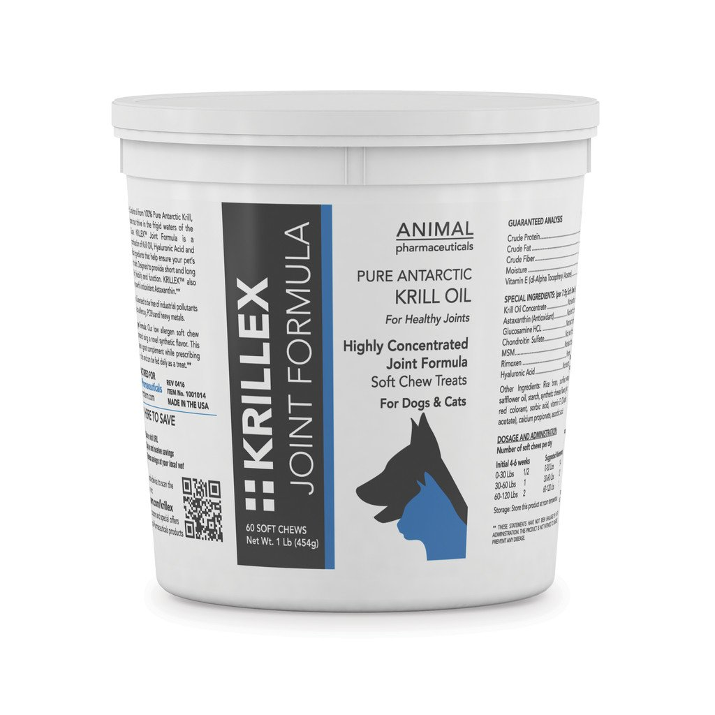 Animal Pharmaceuticals 60 Count Krillex Joint Formula Supplement
