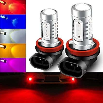 2pcs Amber Yellow LED 9006 7.5W COB HB4 High Power Fog Light Driving Bulb Lamp