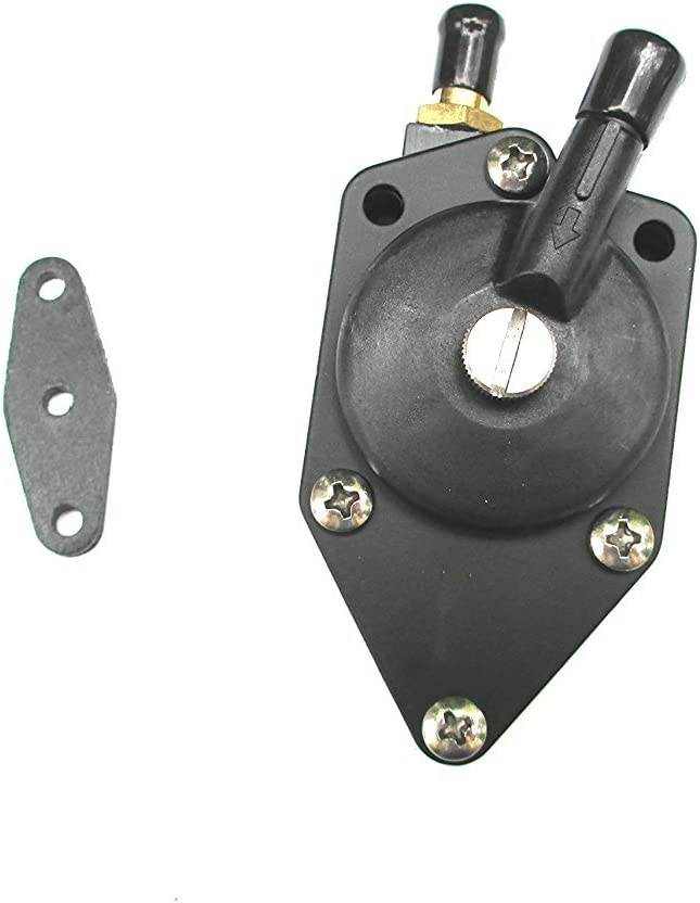 Outboard Fuel Pump with Gasket fit Johnson//Evinrude 20-140HP Replaces 438556 NEW