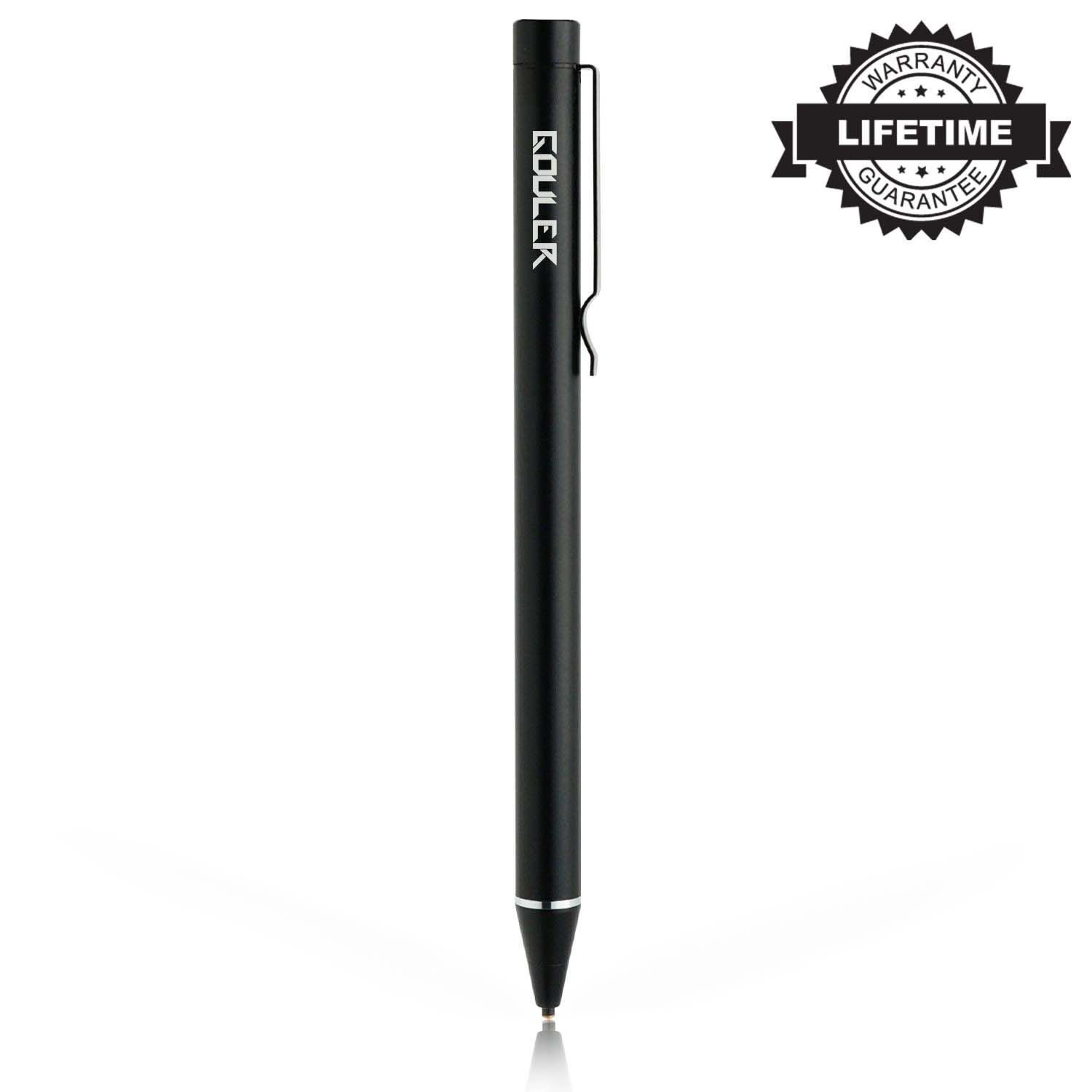 【Upgraded】High-Precision Active Stylus Pen with 1.6mm Fine Tip for iPad/iPhone X/8/8 Plus, Samsung Tablets and Other Capacitive Touch Screen Devices