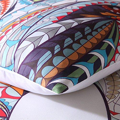 (#005) Mandala Comforter Bedding Cover Colorful Elephant Boho India Duvet Covers Set by trois_s (Image #2)