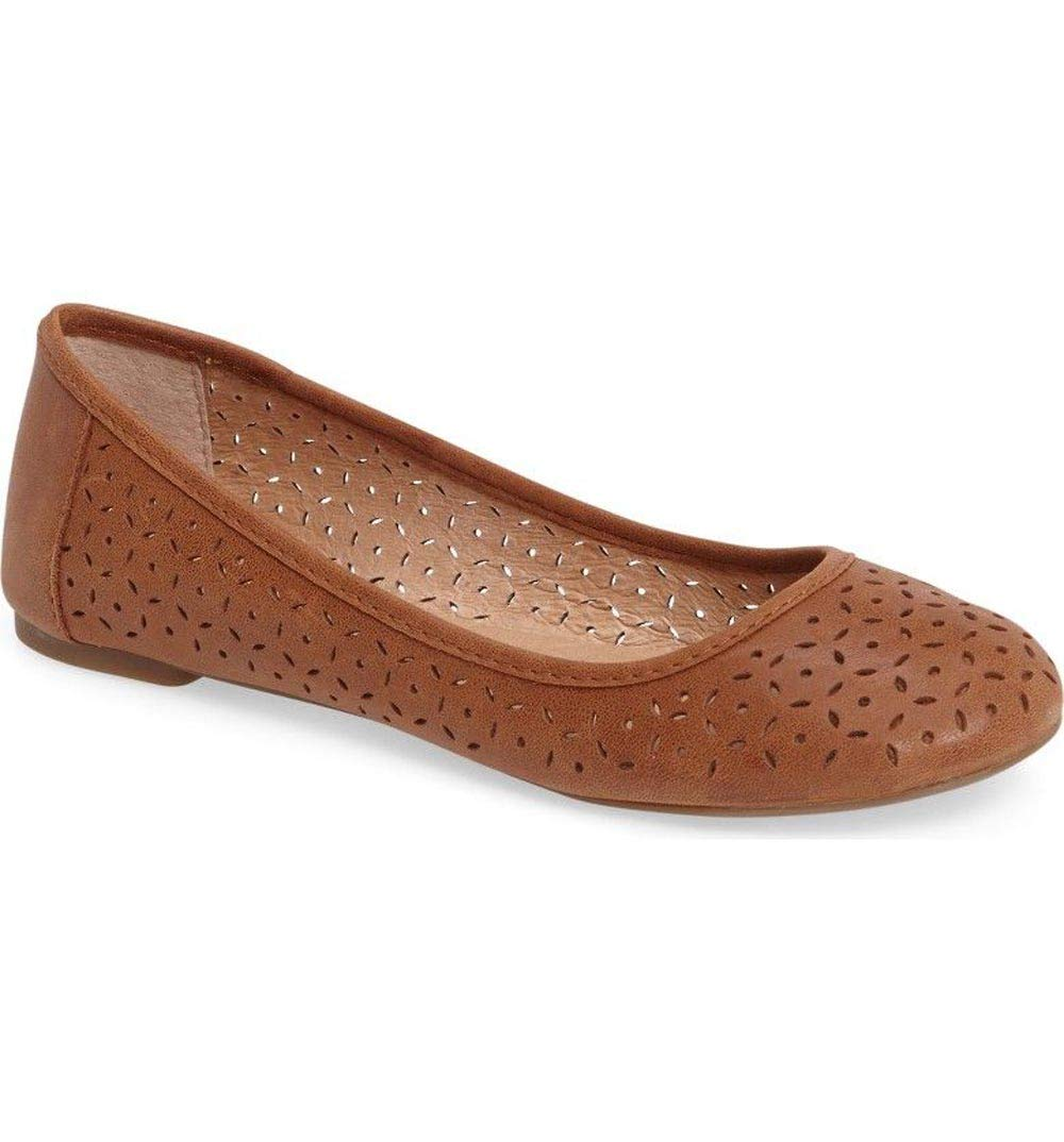 Lucky Brand Womens EADEN2 Flat Bourbon Winter Haze