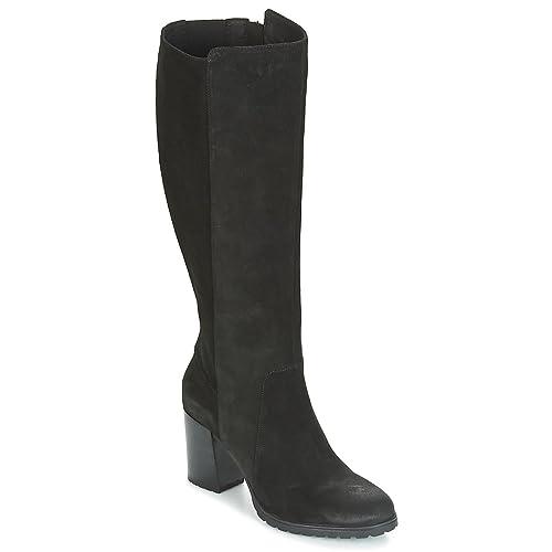 Geox donna stivali nero D746UB scarpe in camoscio inverno 2018 fdf84f03099