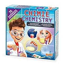 Buki Chemistry Set with 75-Experiments