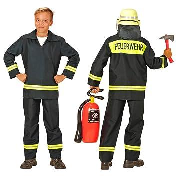 ästhetisches Aussehen Einkaufen wie man bestellt Kinder-Feuerwehr-Kostüm Grösse 152 Feuerwehr-Mann Feuerwehr ...