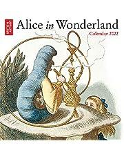 British Library - Alice in Wonderland Mini Wall calendar 2022 (Art Calendar)