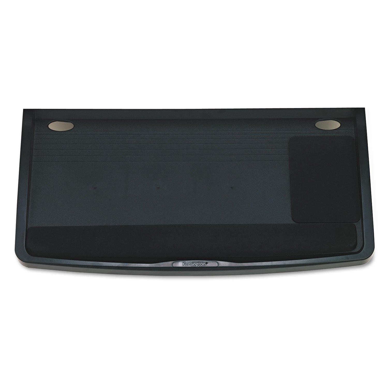 Kensington 60004 Underdesk Keyboard Drawer,w/Mouse Tray,26-Inch x13-1/2-Inch,Black by Kensington
