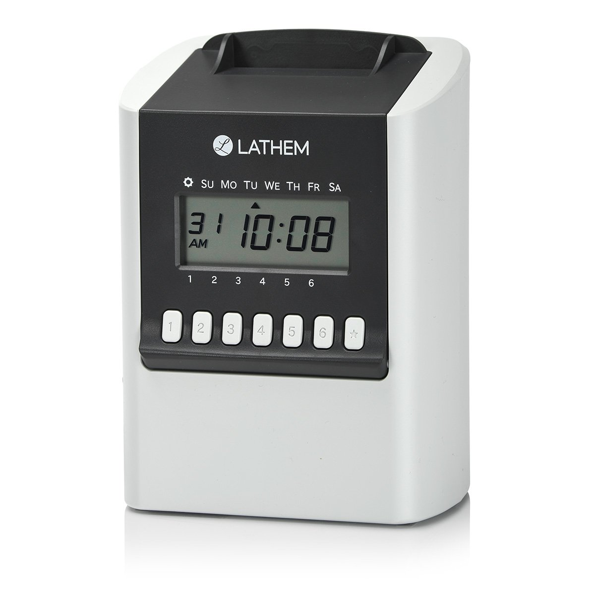 Lathem 700E Calculating Electronic Time Clock, Requires Lathem E17 Time Cards (Sold Separately) (700E) by Lathem