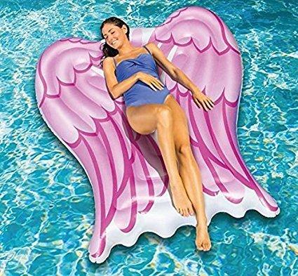 Angel Wings Pool Lounger Over 5 Feet Pool Float (Octopus Pool Float)