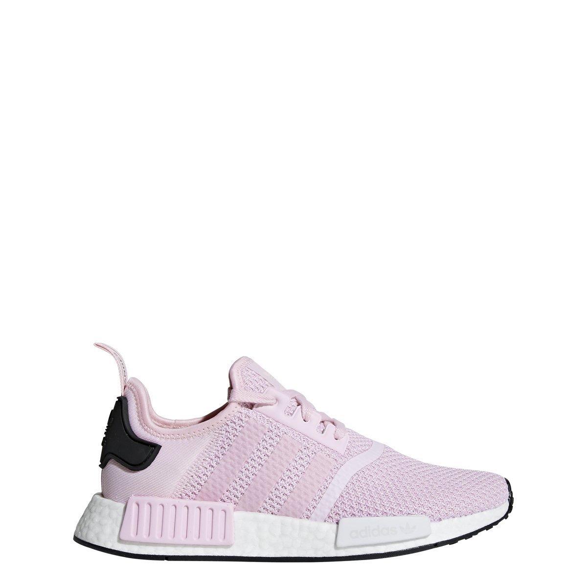 24da76f4a Galleon - Adidas Originals NMD R1 Shoe Women s Casual 6.5 Clear  Pink-White-Black