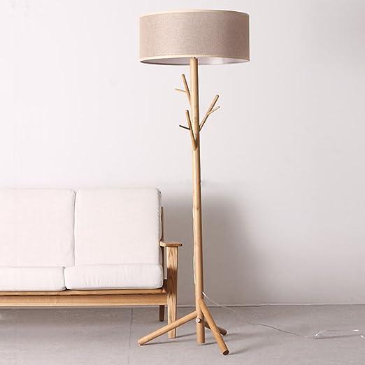 A-ZHP & Lámparas de pie Moderna Rama de árbol Lámparas de Piso de ...