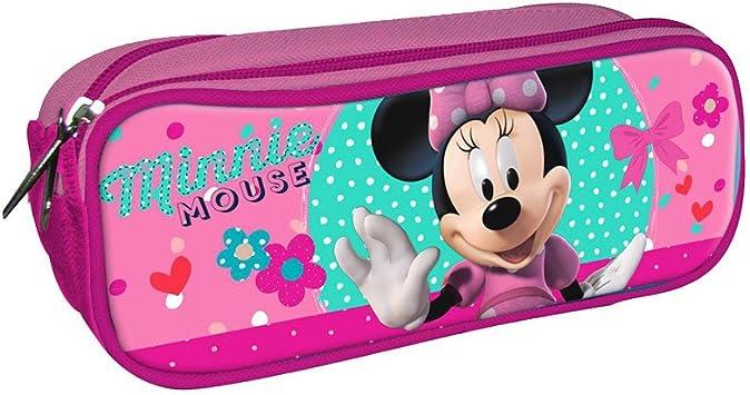 Disney Minnie Estuche portatodo con Doble Cremallera Bolsillo: Amazon.es: Juguetes y juegos