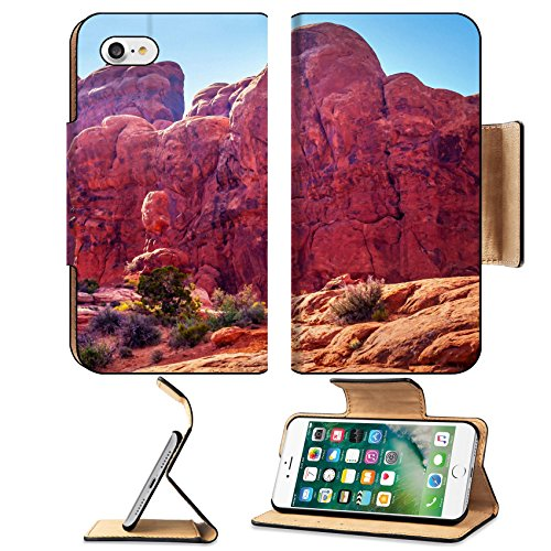 liili-apple-iphone-7-pu-leather-flip-case-march-of-elephants-garden-eden-windows-section-arches-nati