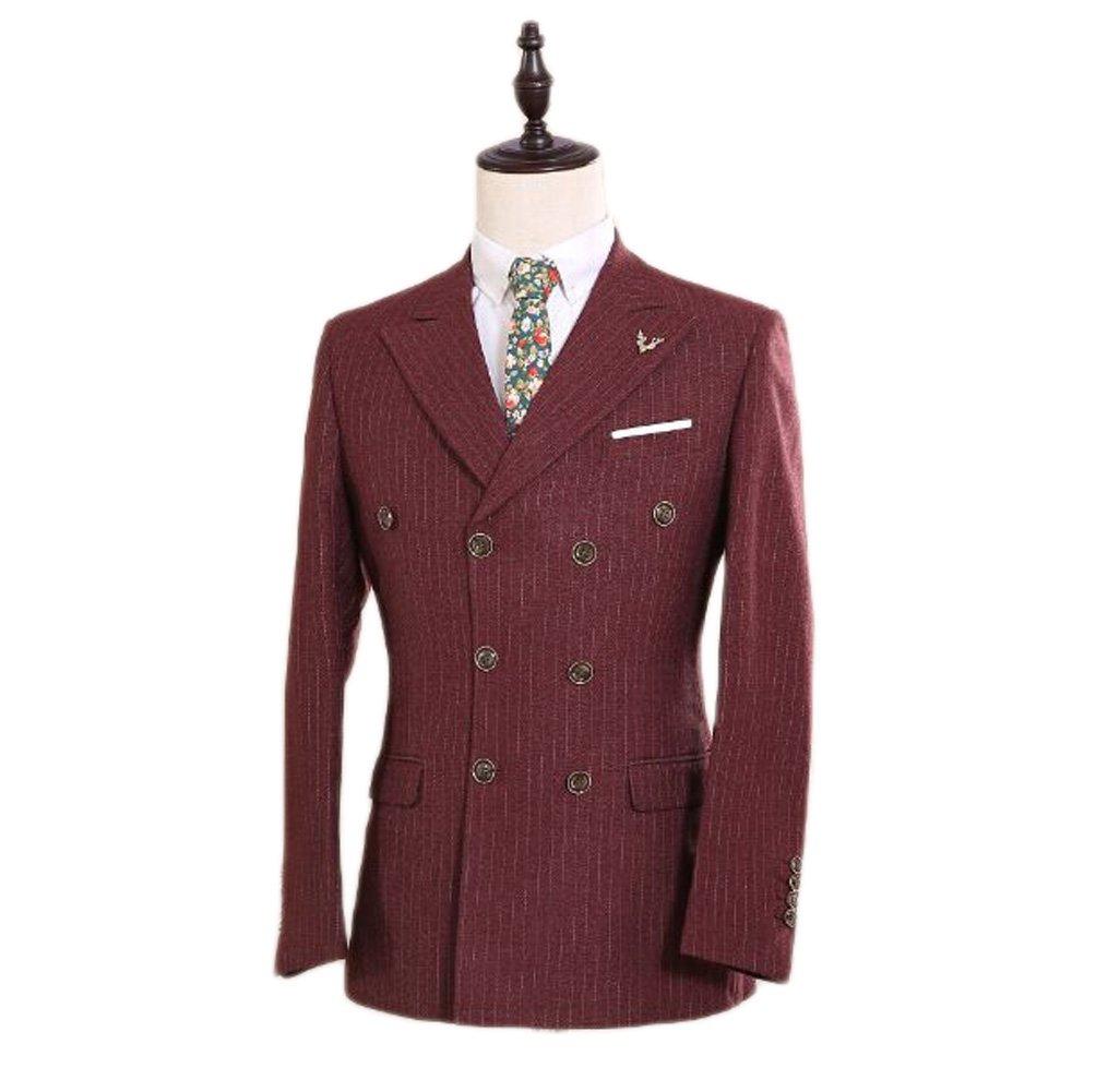 Love Dress Men's Suit 3-Piece Groom Dress Party Gown 5XL