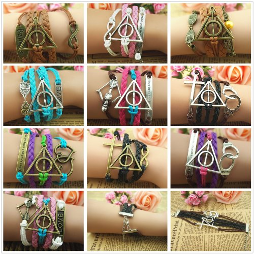 harry-potter-deathly-hallows-infinity-owl-believe-freedom-braided-leather-bracelet