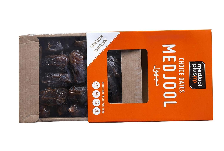 1 kg Medjool Dátiles jugosos y tiernos, supremo grande en caja