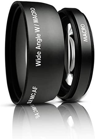 Gadget Career High Quality Center Pinch Front Lens Cap for Canon VIXIA HF R800