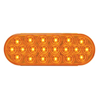Grand General 87720 Amber Oval Fleet 20-LED Park/Turn/Clearance Sealed Light: Automotive