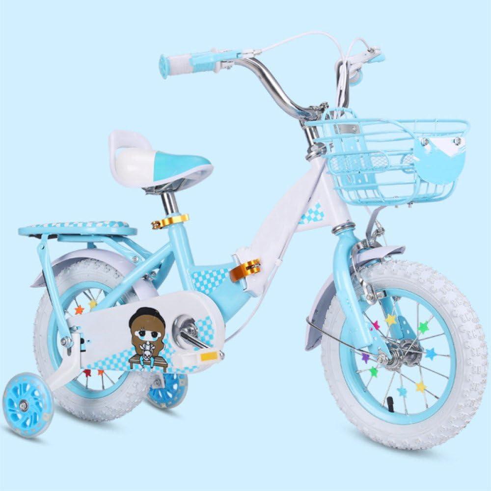 ZCRFY Bicicleta para Niños Bicicletas Infantiles Bebés Y Niñas ...