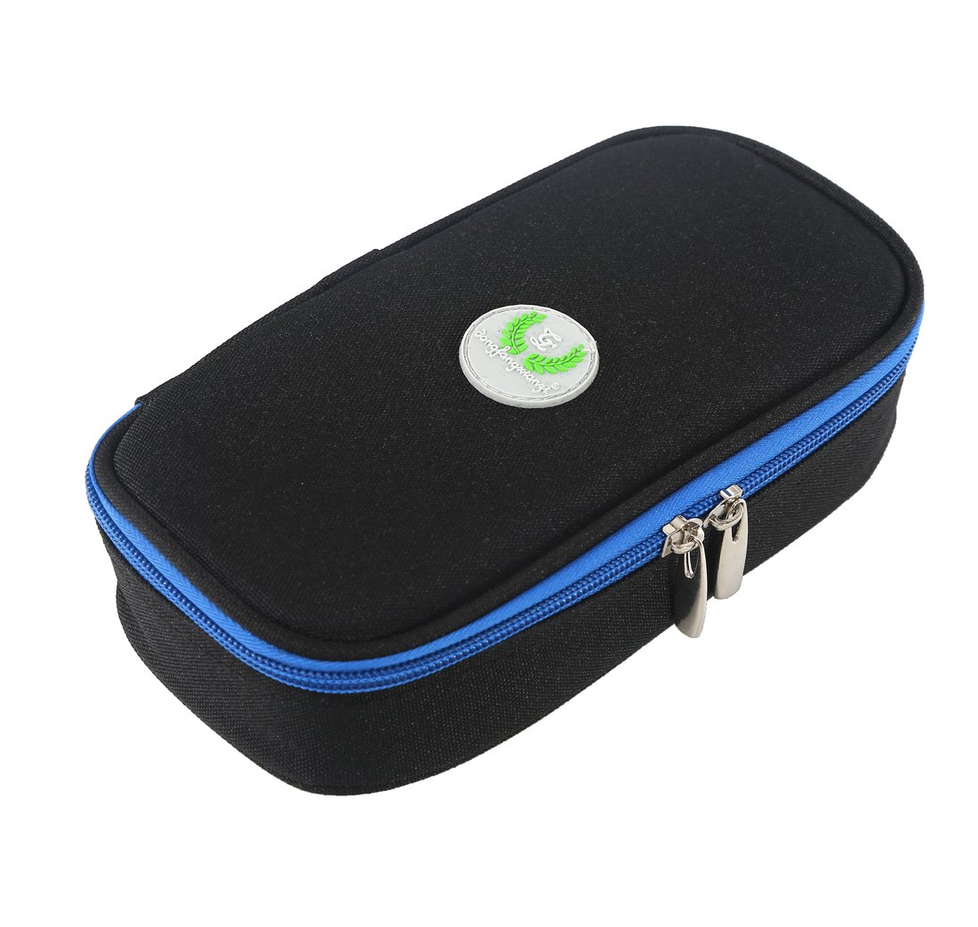 Comfysail Insulin Cool Bag Portable Medical Travel Cooler Case Diabetic Organizer Can Holds 2 Pens for Outdoor Travel(Cold Gel not Include)