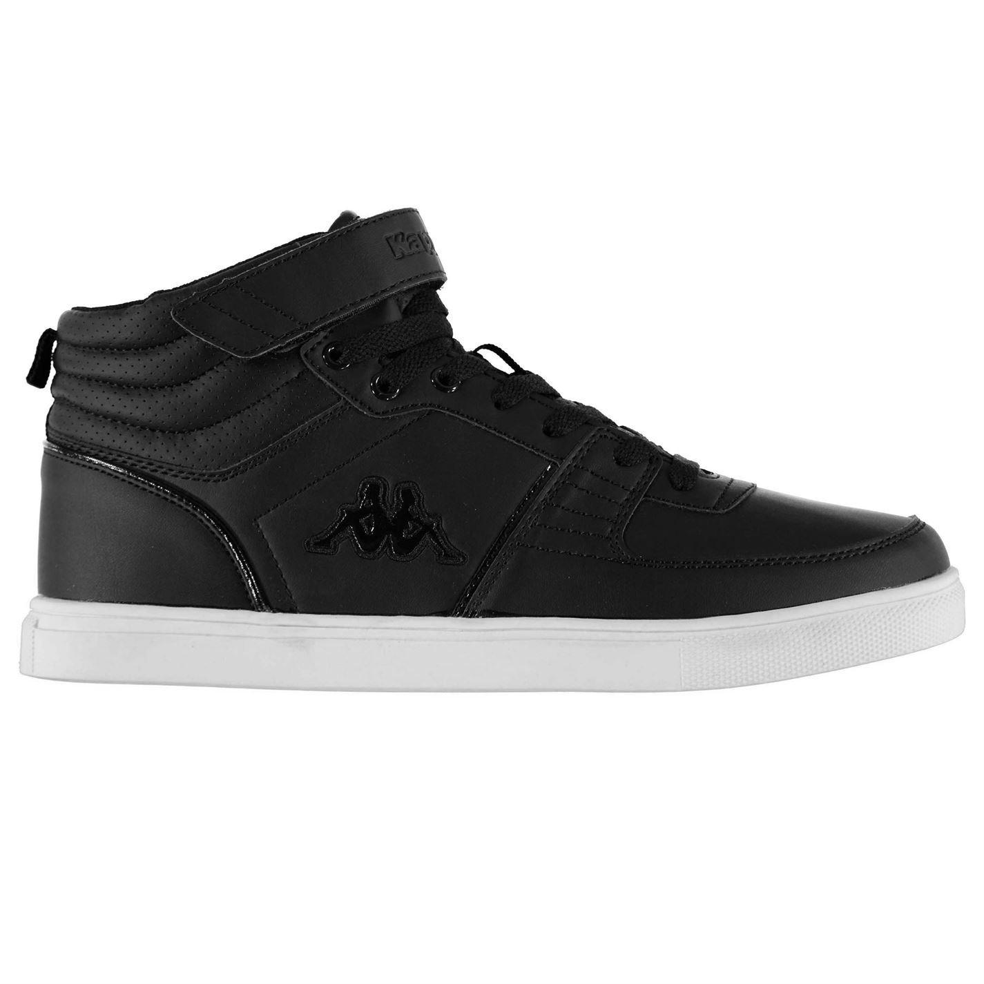 Kappa Aria Mid Top Trainers Mens Black Sports Shoes Sneakers Footwear (UK9)  (EU43) (US10): Amazon.co.uk: Sports \u0026 Outdoors