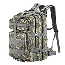 Lixada 45L MOLLE Military Rucksack Tactical Backpack for Outdoor Travel Camping Hiking