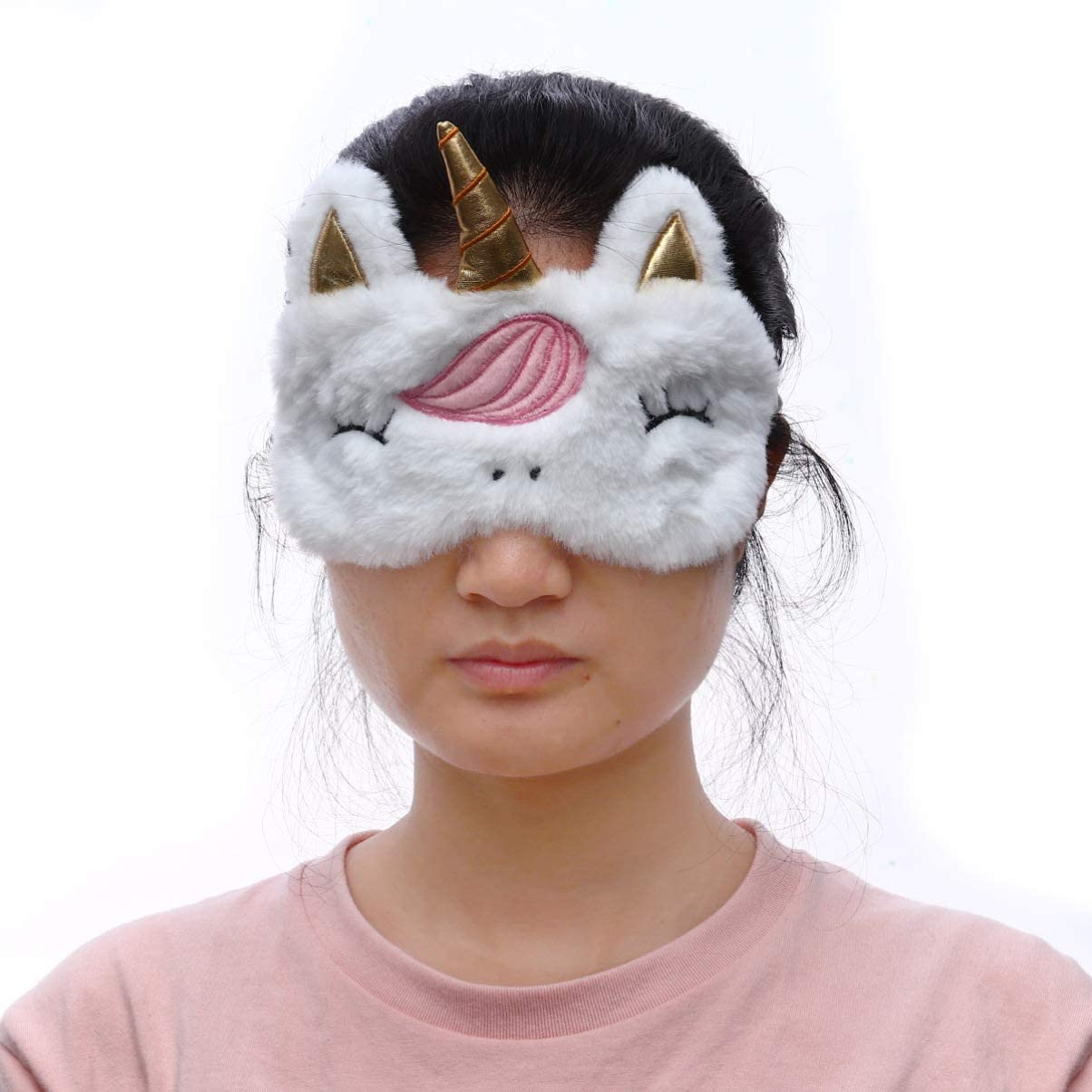 Licorne Cache-Oeil Cache-/œil Unicorn Eye Cover Shadow Shadow pour f/ête de Nuit de Licorne Kylewo Masque de Sommeil Mesdames Filles