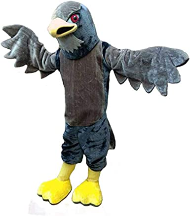 Details about  /2019 Cute Adult Cosplay Hawk Mascot Costume Suit Party Dress Outfit Halloween