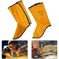 Espátulas de soldadura de cuero, zapatos de protección