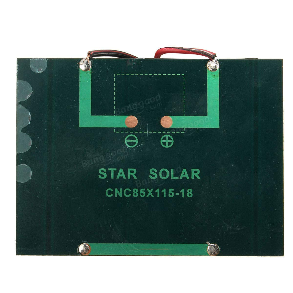 Arduino Compatible SCM & DIY Kits Smart Robot & Solar Panel - 12V 1.5W Mini Solar Panel Small cell Module Epoxy Charger With 1M Welding Wire - 1 x Solar Panel 1 x Welding Wire