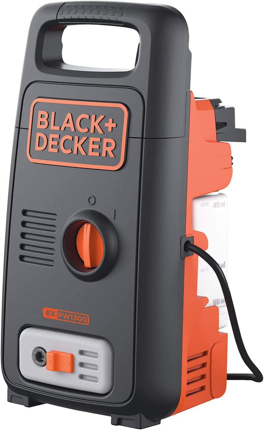 بلاك اند ديكر مضخة ماء ذات ضغط عالي ، 1300 واط ، ضغط 100 بار ، BXPW1300E-B5