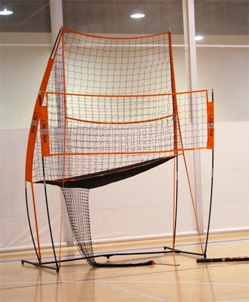 amazon com bownet volleyball practice station bow vb practice