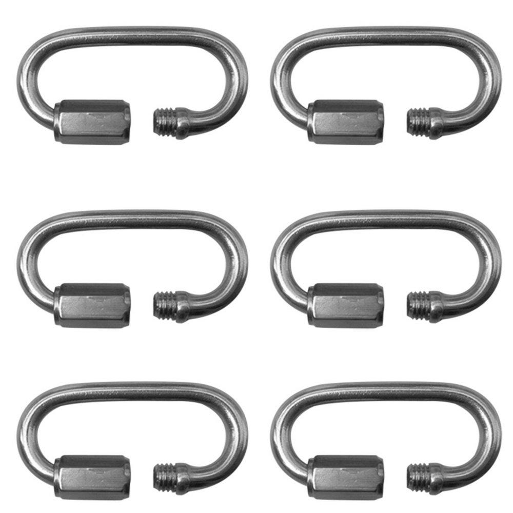 M3.5-M10 Quick Link Stainless Steel 304 Locking Spring Clip Hook Carabiner Godagoda