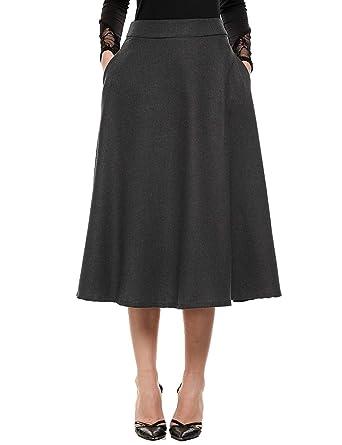 Falda De Verano para Mujer Moda Vintage Falda Elegante Mode De ...