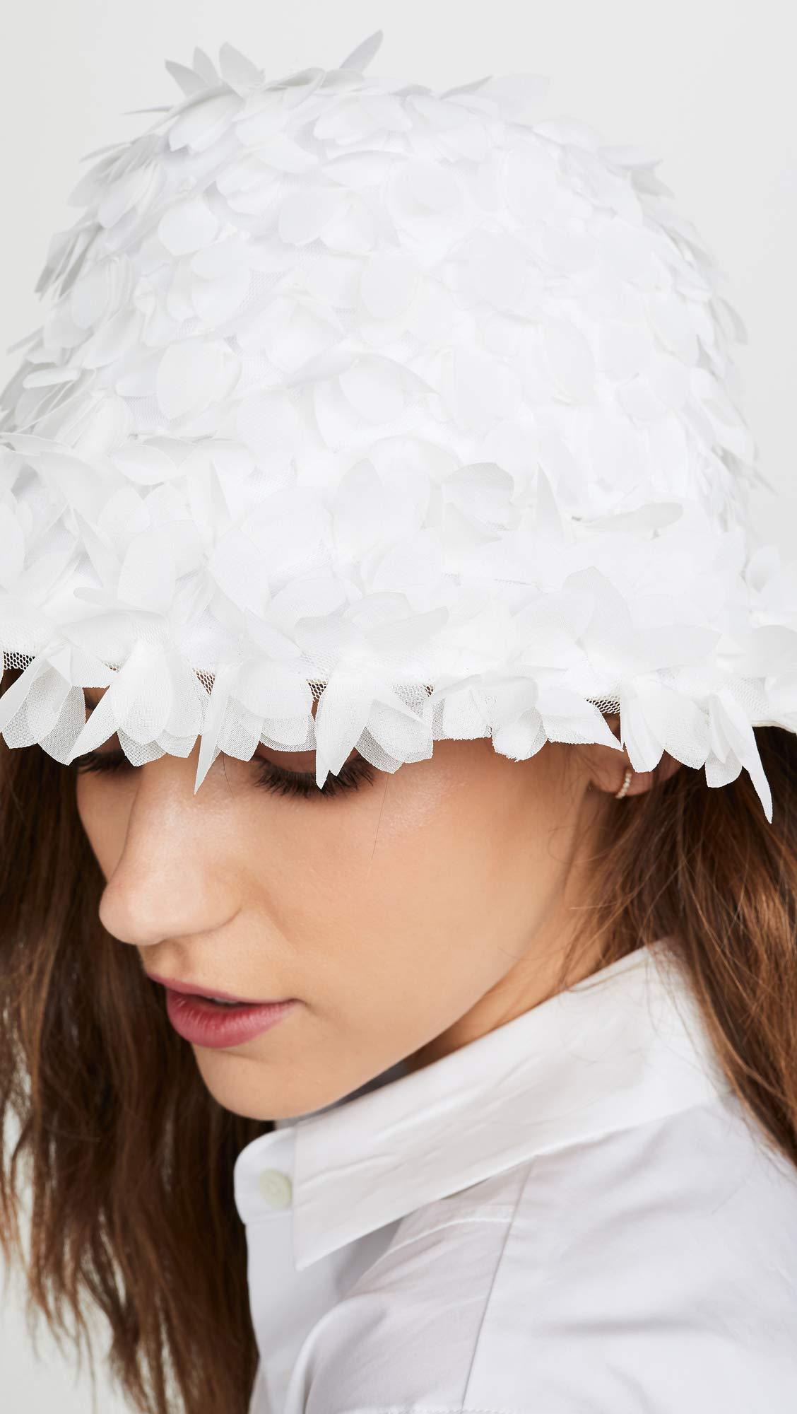Eugenia Kim Women's Toby Bucket Hat, White, One Size by Eugenia Kim (Image #3)