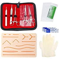 Medical Skin Suture Surgical Training Kit Silicone Pad