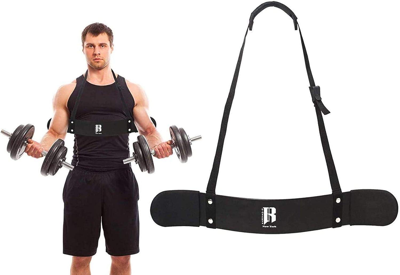 Arm Blaster Fitness,Armtrainer Bizeps Arm Blaster f/ür Bodybuilding Heavy Duty Arm Blaster Bizeps Curl Support Dicke Aluminiumlegierung mit verstellbarem Riemen Bic lahomie