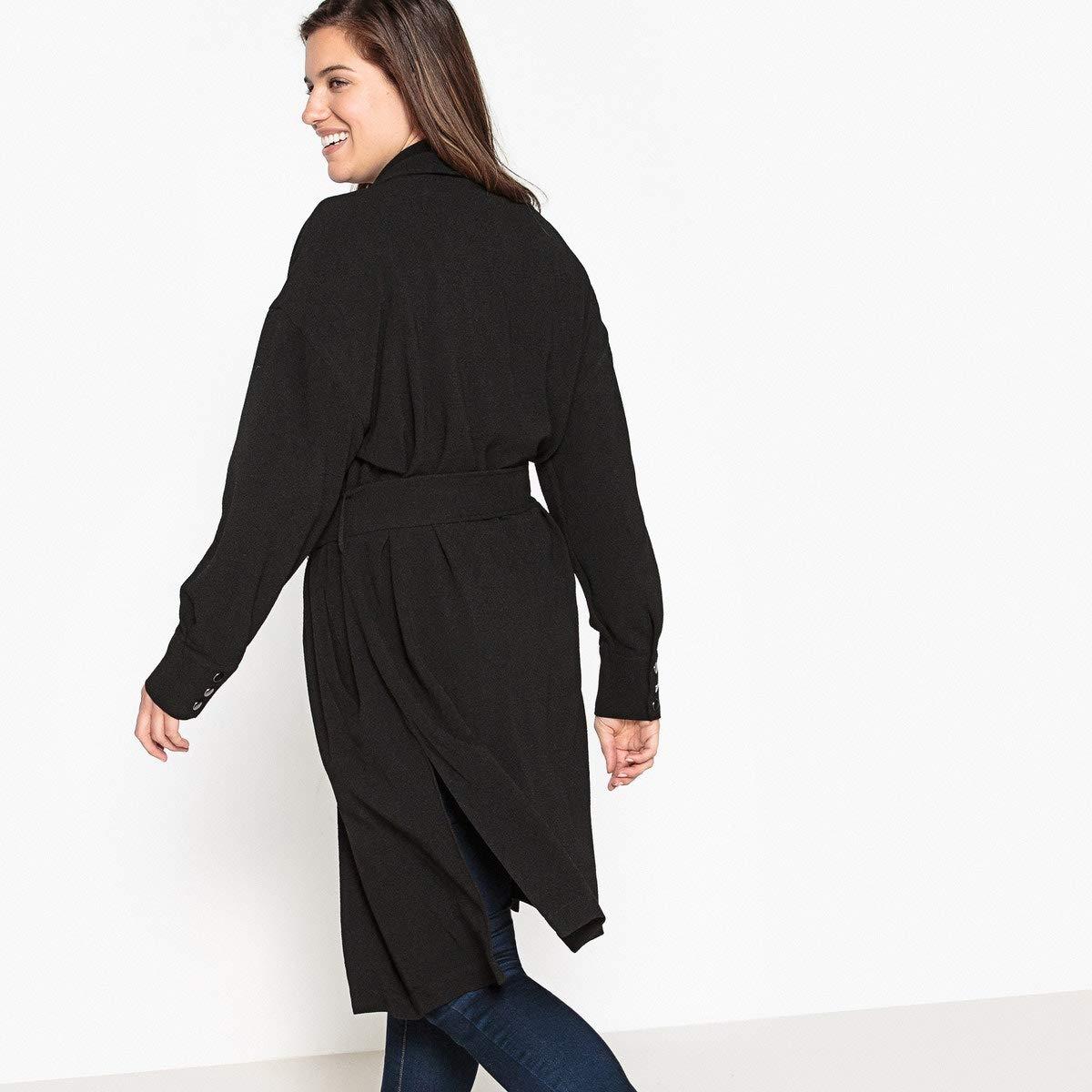 La Redoute Castaluna Womens Draping Trench Coat