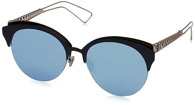 9b49228175 Amazon.com  Christian Dior Diorama Club S Sunglasses Matte Blue Pink ...