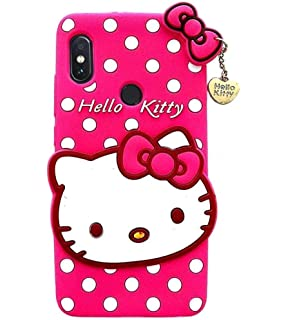 c172c40dd32 Mobiclonics® Cartoon Hello Kitty Back Cover for Xiaomi Redmi Y2 (Pink)