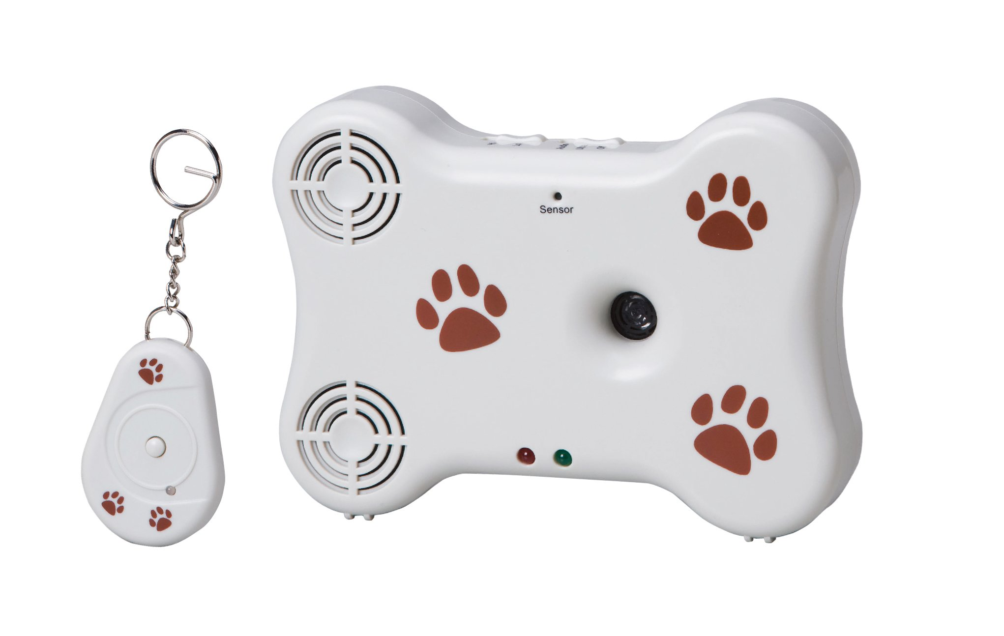 NewRam Ultrasonic Dog Barking Control: Stop your Neighbour's Dogs. Automatic Deterrent for Outdoor & Indoor. Long Range & Remote Control Safe Pet Behavior Training Device