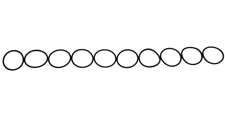 """VITON ORINGS 324 SIZE BAG OF 10 1-3//8/"""" ID X 1-3//4/"""" OD"""