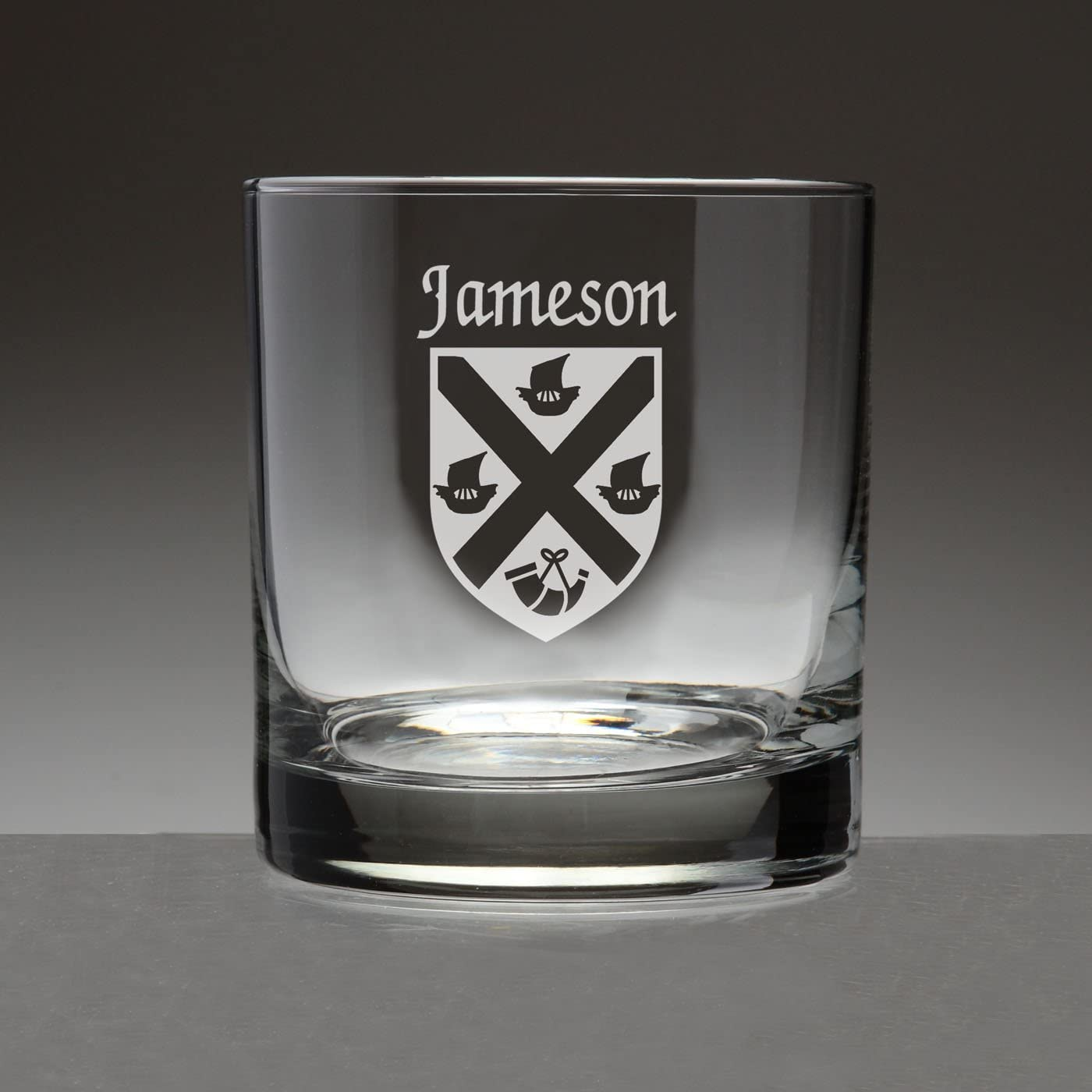 set of 2 Jameson Irish Whiskey rocks glasses