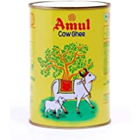 Amul Pure Cow Ghee 1L, tin