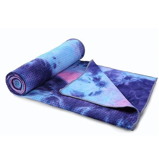 ANHPI Toalla De Yoga Impresa Antideslizante Rápida Absorción ...