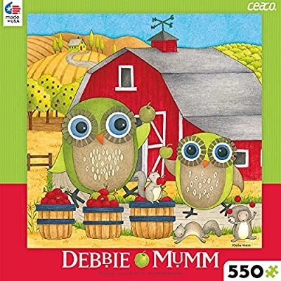 Ceaco Debbie Mumm Apple Orchard Puzzle (550 Piece): Toys & Games